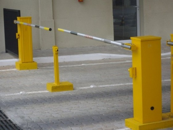 Cancela para Estacionamento de Shopping
